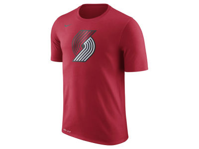 Portland Trail Blazers Nike NBA Men's Dri-Fit Cotton Logo T-Shirt