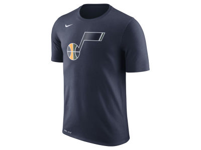Utah Jazz Nike NBA Men's Dri-Fit Cotton Logo T-Shirt