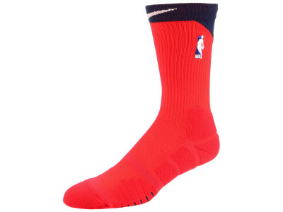 NBA Logo Nike Elite Quick Alt Crew Socks