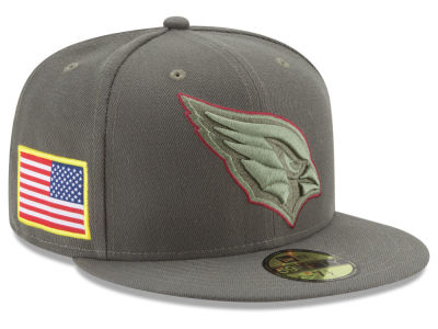Arizona Cardinals New Era 2017 NFL Salute To Service 59FIFTY Cap