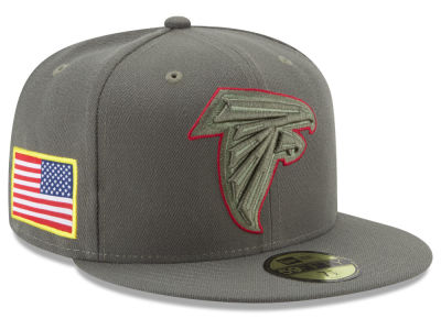Atlanta Falcons New Era 2017 NFL Salute To Service 59FIFTY Cap