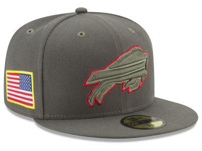 Buffalo Bills New Era 2017 NFL Salute To Service 59FIFTY Cap
