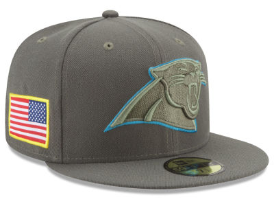 Carolina Panthers New Era 2017 NFL Salute To Service 59FIFTY Cap
