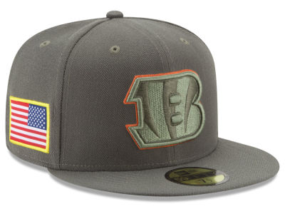 Cincinnati Bengals New Era 2017 NFL Salute To Service 59FIFTY Cap