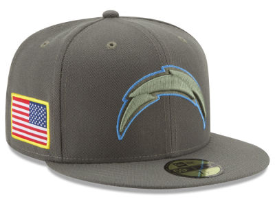 Los Angeles Chargers New Era 2017 NFL Salute To Service 59FIFTY Cap