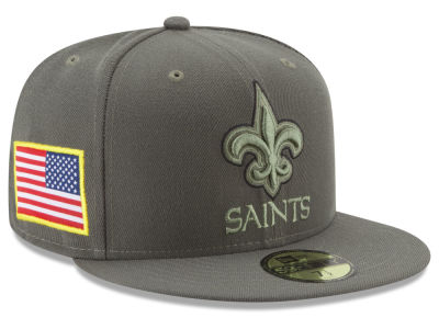 New Orleans Saints New Era 2017 NFL Salute To Service 59FIFTY Cap