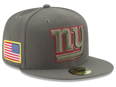 New York Giants New Era 2017 NFL Salute To Service 59FIFTY Cap