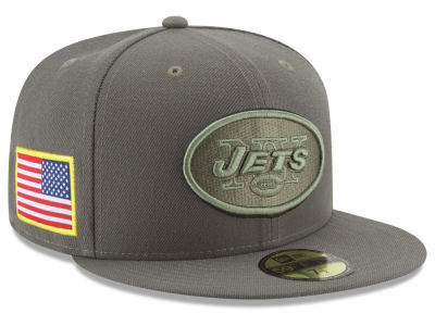 New York Jets New Era 2017 NFL Salute To Service 59FIFTY Cap