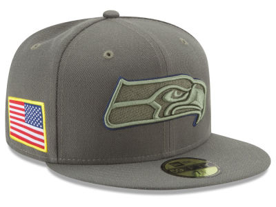 Seattle Seahawks New Era 2017 NFL Salute To Service 59FIFTY Cap
