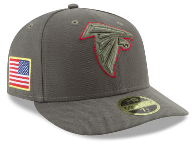 Atlanta Falcons New Era 2017 NFL Salute To Service Low Profile 59FIFTY Cap