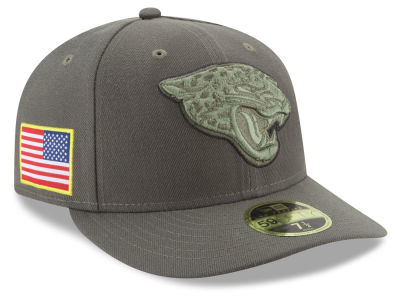Jacksonville Jaguars New Era 2017 NFL Salute To Service Low Profile 59FIFTY Cap