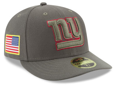New York Giants New Era 2017 NFL Salute To Service Low Profile 59FIFTY Cap