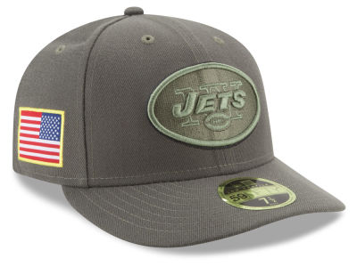 New York Jets New Era 2017 NFL Salute To Service Low Profile 59FIFTY Cap