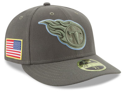 Tennessee Titans New Era 2017 NFL Salute To Service Low Profile 59FIFTY Cap