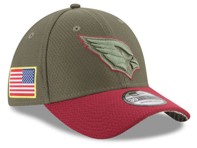 release date: 2398c 28836 Arizona Cardinals New Era 2017 NFL Salute To Service 39THIRTY Cap