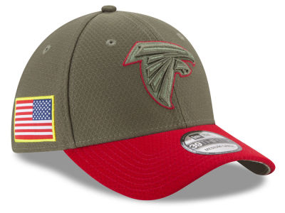Atlanta Falcons New Era 2017 NFL Salute To Service 39THIRTY Cap