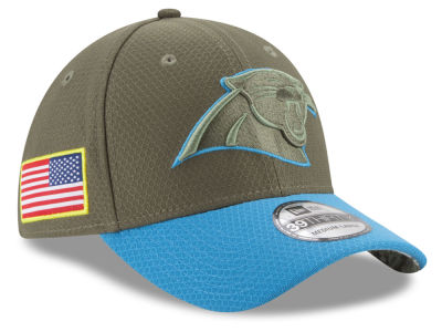 Carolina Panthers New Era 2017 NFL Salute To Service 39THIRTY Cap