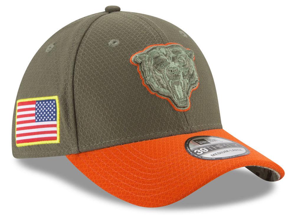 new concept 0da30 e291d Chicago Bears New Era 2017 NFL Salute To Service 39THIRTY Cap