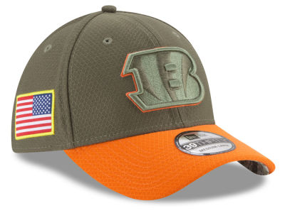 Cincinnati Bengals New Era 2017 NFL Salute To Service 39THIRTY Cap