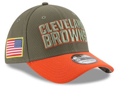 Cleveland Browns New Era 2017 NFL Salute To Service 39THIRTY Cap