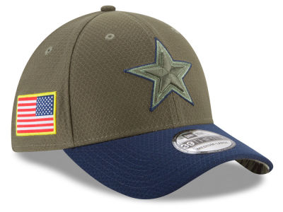 Dallas Cowboys New Era 2017 NFL Salute To Service 39THIRTY Cap