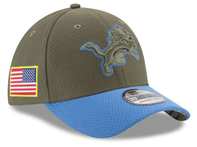 Detroit Lions New Era 2017 NFL Salute To Service 39THIRTY Cap
