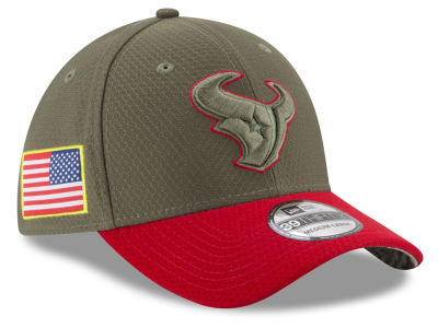 Houston Texans New Era 2017 NFL Salute To Service 39THIRTY Cap