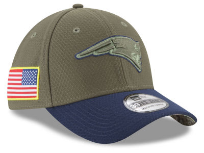 New England Patriots New Era 2017 NFL Salute To Service 39THIRTY Cap