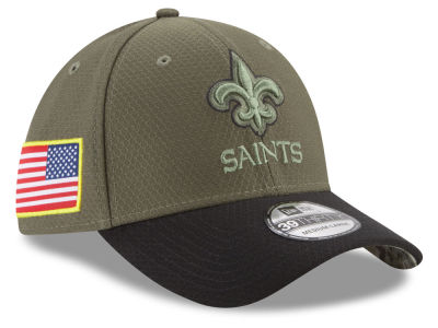New Orleans Saints New Era 2017 NFL Salute To Service 39THIRTY Cap