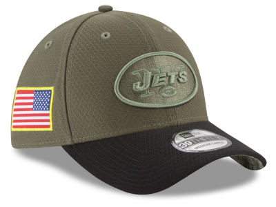 New York Jets New Era 2017 NFL Salute To Service 39THIRTY Cap
