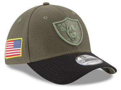 Oakland Raiders New Era 2017 NFL Salute To Service 39THIRTY Cap