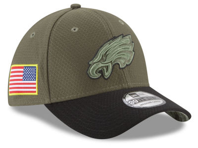 Philadelphia Eagles New Era 2017 NFL Salute To Service 39THIRTY Cap