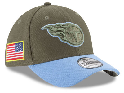 Tennessee Titans New Era 2017 NFL Salute To Service 39THIRTY Cap