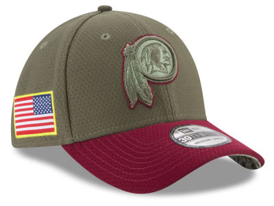 Washington Redskins New Era 2017 NFL Salute To Service 39THIRTY Cap