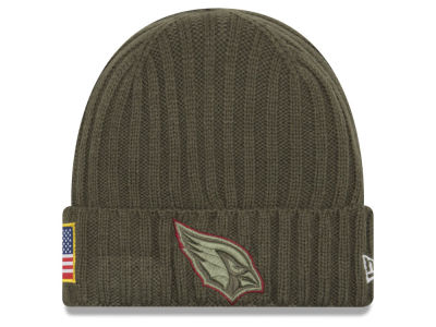 Arizona Cardinals New Era 2017 NFL Salute To Service Cuff Knit