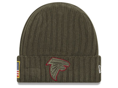 Atlanta Falcons New Era 2017 NFL Salute To Service Cuff Knit