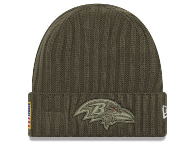 Baltimore Ravens New Era 2017 NFL Salute To Service Cuff Knit
