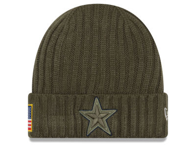 Dallas Cowboys New Era 2017 NFL Salute To Service Cuff Knit