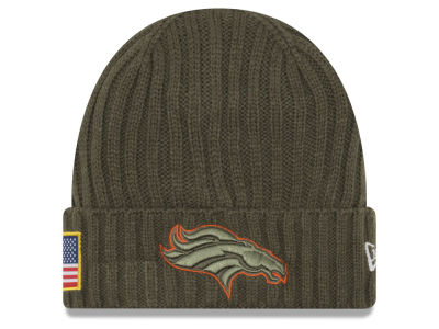 Denver Broncos New Era 2017 NFL Salute To Service Cuff Knit