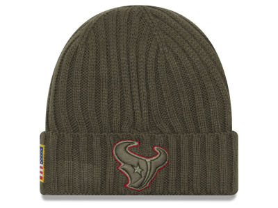 Houston Texans New Era 2017 NFL Salute To Service Cuff Knit
