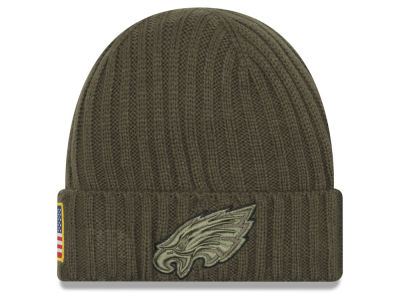 Philadelphia Eagles New Era 2017 NFL Salute To Service Cuff Knit