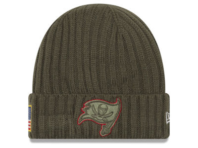 Tampa Bay Buccaneers New Era 2017 NFL Salute To Service Cuff Knit