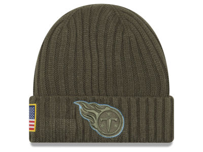 Tennessee Titans New Era 2017 NFL Salute To Service Cuff Knit
