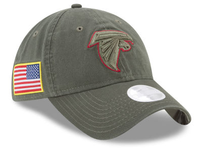 Atlanta Falcons New Era 2017 NFL Women's Salute To Service 9TWENTY Cap