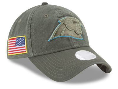 Carolina Panthers New Era 2017 NFL Women's Salute To Service 9TWENTY Cap
