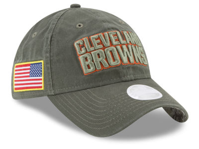 Cleveland Browns New Era 2017 NFL Women's Salute To Service 9TWENTY Cap