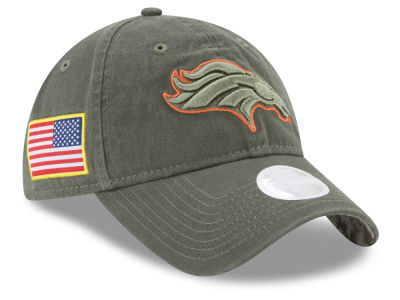 Denver Broncos New Era 2017 NFL Women's Salute To Service 9TWENTY Cap