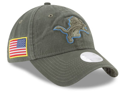 Detroit Lions New Era 2017 NFL Women's Salute To Service 9TWENTY Cap