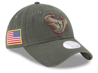 Houston Texans New Era 2017 NFL Women's Salute To Service 9TWENTY Cap