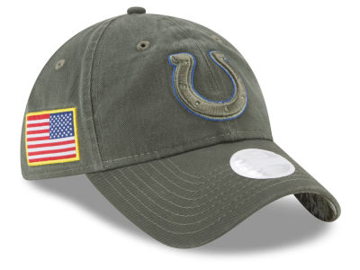Indianapolis Colts New Era 2017 NFL Women's Salute To Service 9TWENTY Cap